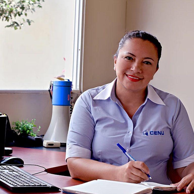 Solinda Rodriguez Inspectora General del CENU